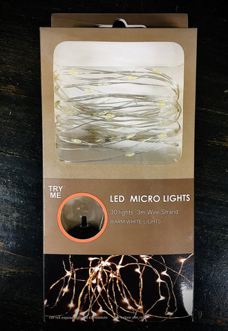 LED Micro Lights - Warm White Lights