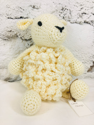 Little Things - Crochet Lamb