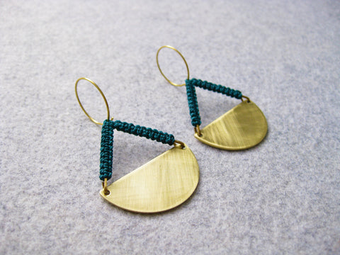 raïz - Pendulum earrings