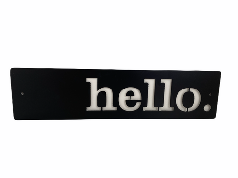 Midnight Metal Designs: Hello