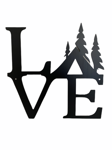 Midnight Metal Designs: Love (Camping)