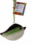 KE Studios: Fused Glass Bird Suncatcher