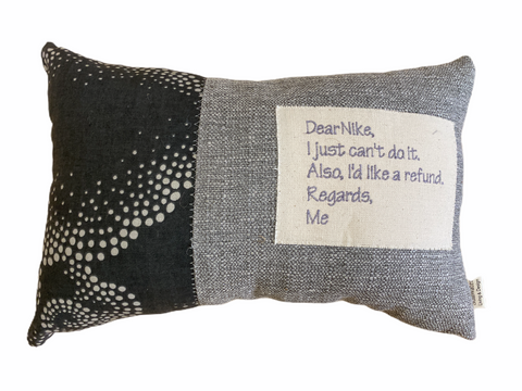 Stillwater Designs Pillow - I just can't do it!