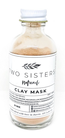 Two Sisters Naturals - Clay Mask