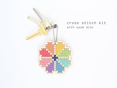 Diana Watters - Keychain and Backpacker Cross Stitch Kit
