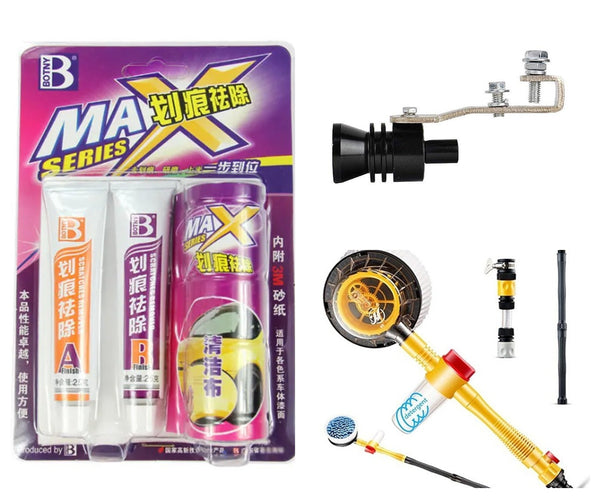 [NEW WHOLESALE] Household & General Merchandise,Neon car lights,Tire maintenance wax x 3,etc