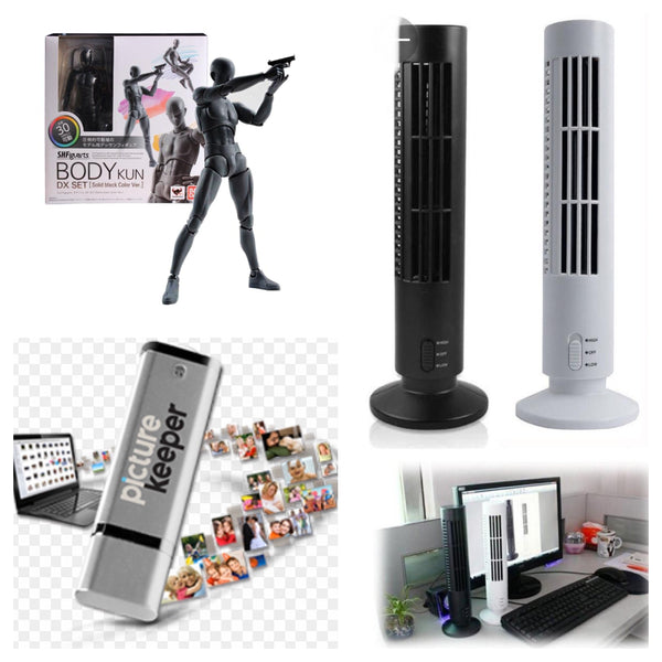 [NEW WHOLESALE] Household & General Merchandise,Picture Keeper USB,USB Tower fan,etc