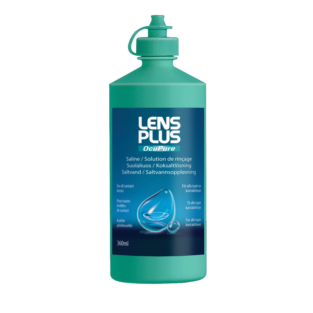 Lens Plus Ocupure Saline 120ml