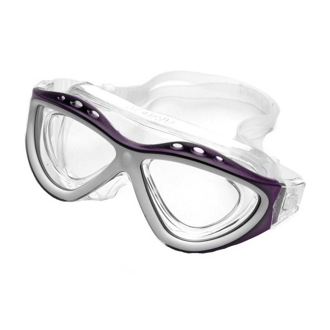 Copy of Aquaviz Swim Mask PURPLE/WHITE
