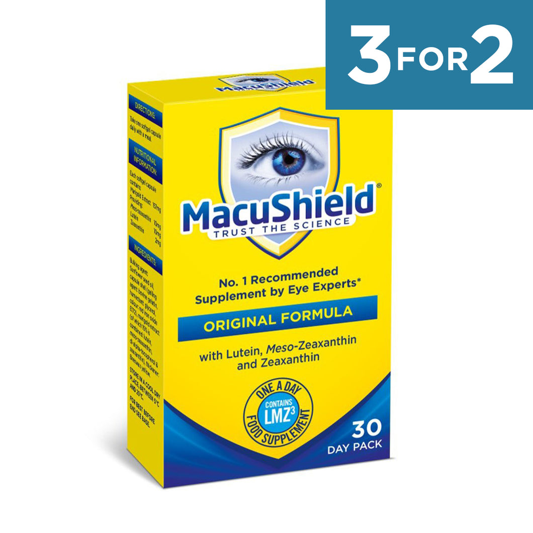 Macushield with MZ Supplements 30 Day - 1 box