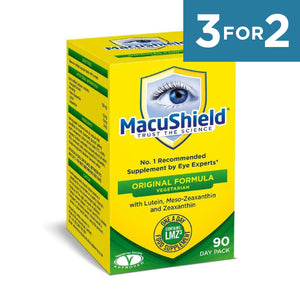 Macushield Veggie with MZ Supplements 90 Capsules - 1 box
