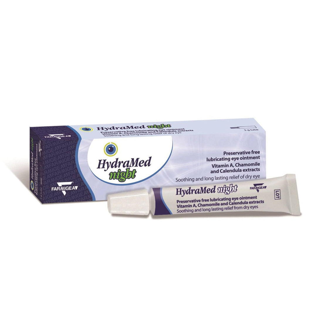 Hydramed Night Eye Ointment 5g