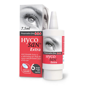 Hycosan Extra RED Dry Eye Drops 7.5ml Bottle