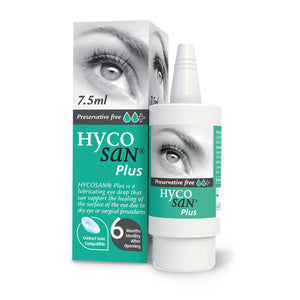 Hycosan Plus GREEN Dry Eye Drops 7.5ml Bottle