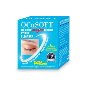 Ocusoft Plus Cleansing Pads x 30