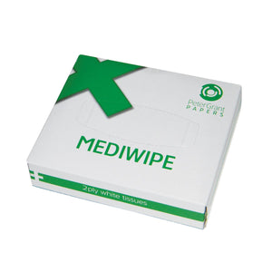 MediWipe 2ply White Tissues (Box of 76)