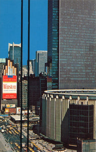 POSTCARDS OVERPRINT, <br> #2 NEW YORK CITY, 1981