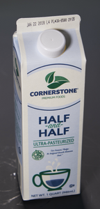 Dairy Half and Half 1 QT