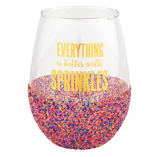 Wine Glass Sprinkles 20oz
