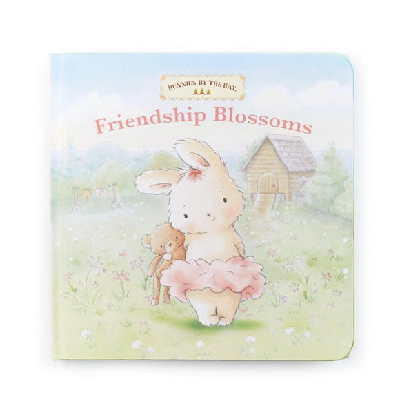 Friendship Blossoms Board Book by Bunnies by the Bay