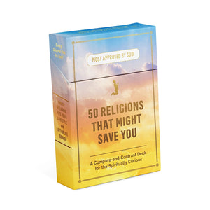50 Religions That Might Save You Compare & Contrast Card Deck