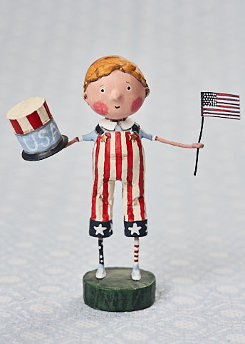 Land That I Love Patriotic Boy Lori Mitchell