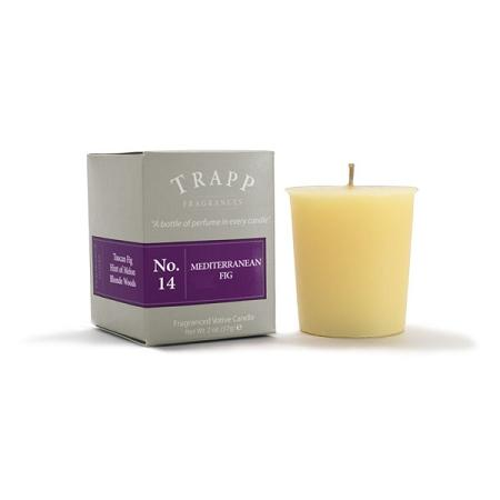 Trapp No. 14 Mediterranean Fig 2oz Votive Candle