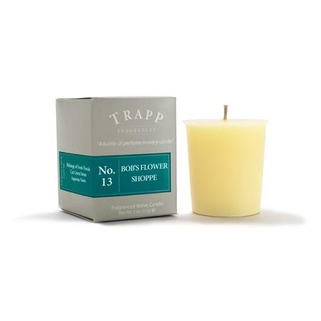 Trapp No. 13 Bob's Flower Shoppe 2oz Votive Candle