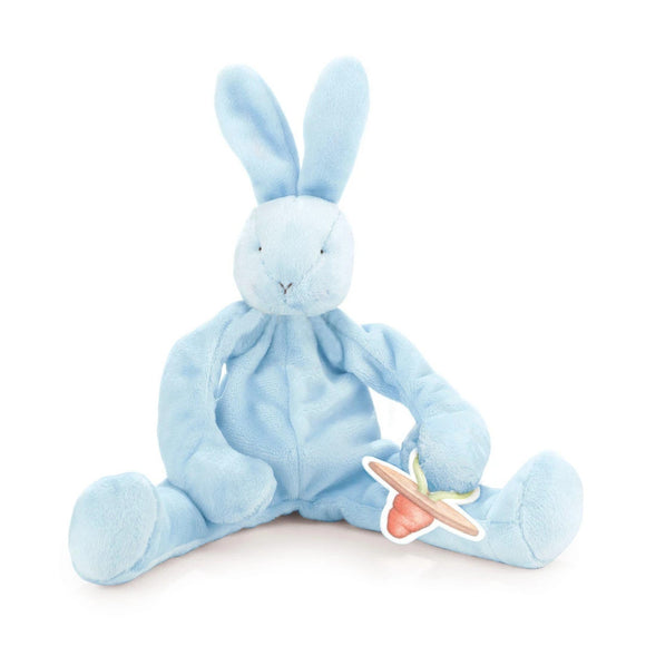 Silly Buddy Pacifier Holder in Blue Bud Bunny by Bunnies by the Bay