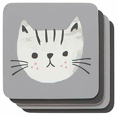 Now Designs Coaster Set of 4 Cats Meow