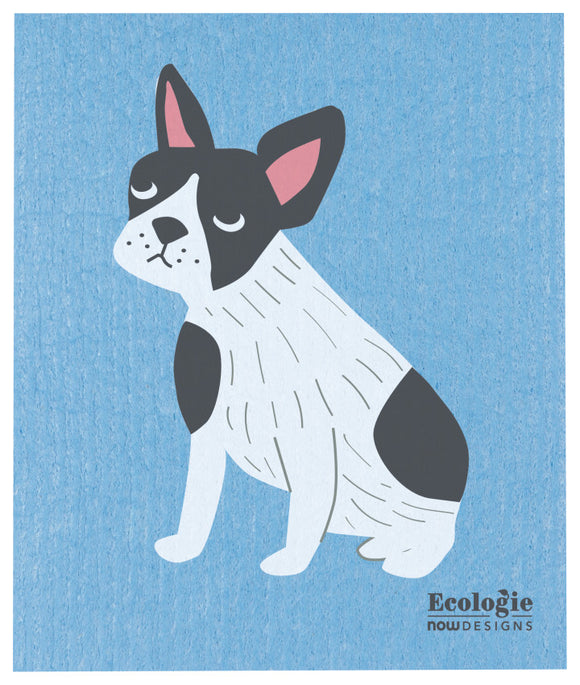 Ecologie Swedish Dish Cloth Handsome Hound Boston Terrier