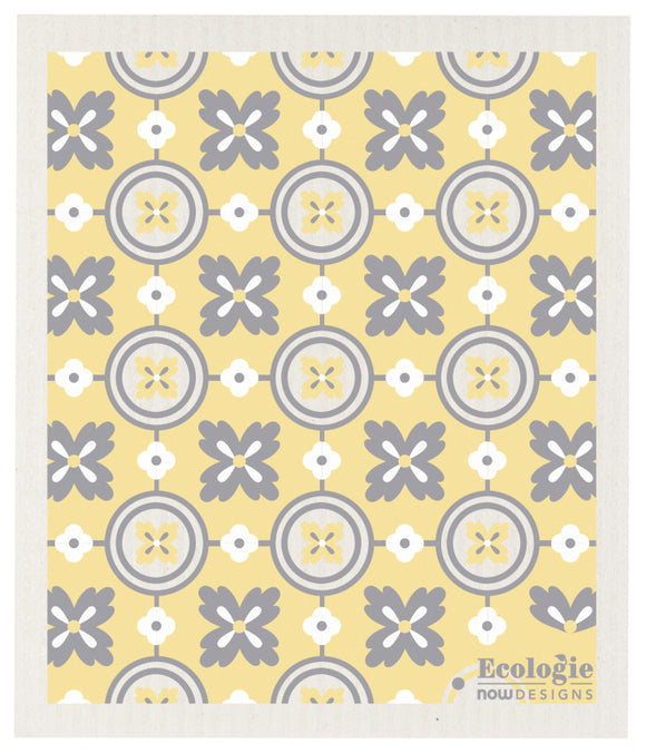 Ecologie Swedish Dish Cloth Versailles Yellow and Gray