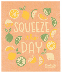 Ecologie Swedish Dish Cloth Swedish Squeeze the Day