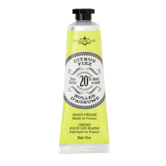 La Chatelaine Citrus Fizz Hand Cream 30ml