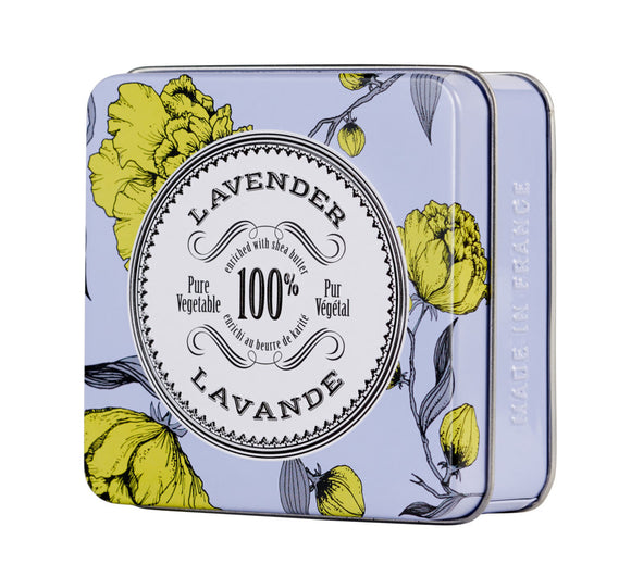 Lavender Soap in Tin La Chatelaine
