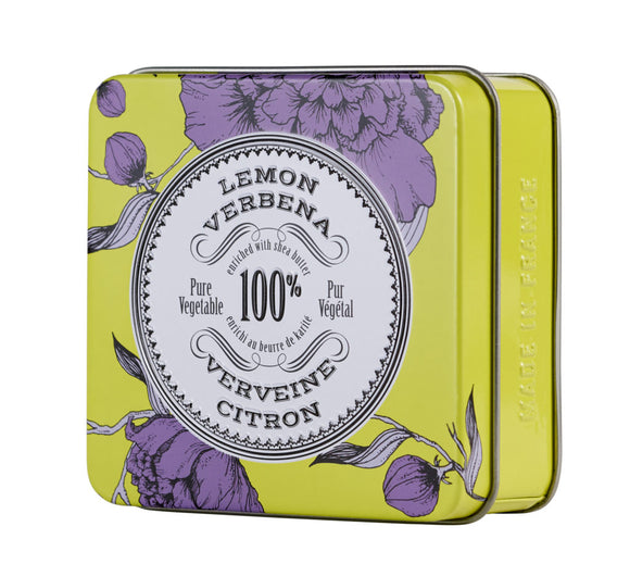 Lemon Verbena Soap in Tin La Chatelaine