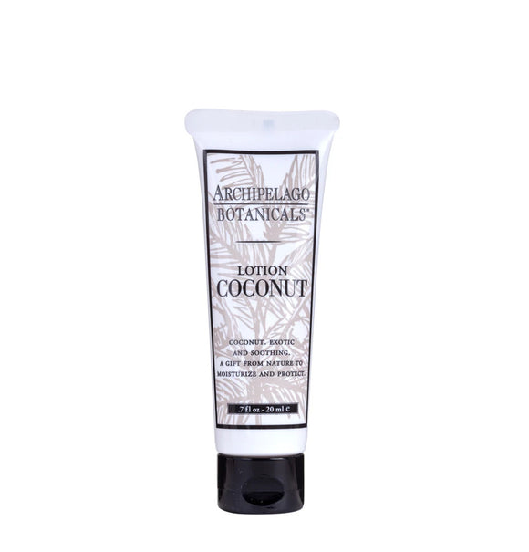 Archipelago Coconut Lotion .7oz Small Tube