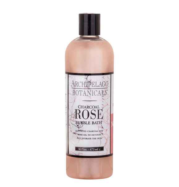 Archipelago Charcoal Rose 16 oz Bubble Bath