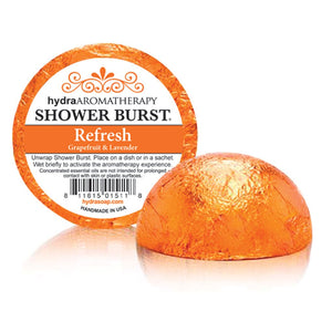 Hydra Aromatherapy Refresh Shower Burst - Grapefruit & Lavender