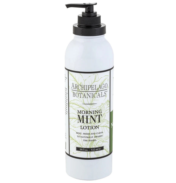 Archipelago Morning Mint Lotion 18oz Pump