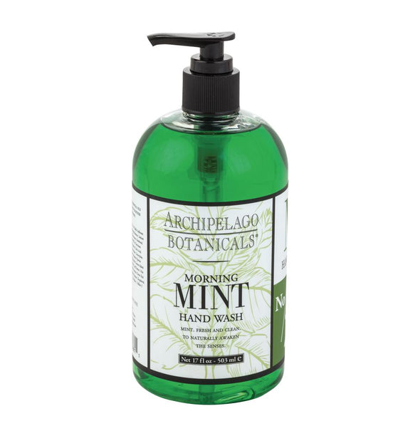 Archipelago Morning Mint Hand Wash 17oz Pump