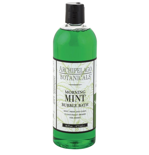 Archipelago Morning Mint 16 oz Bubble Bath