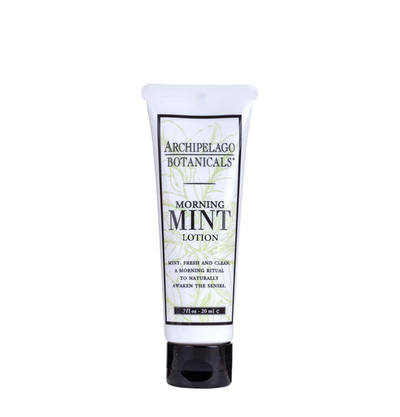 Archipelago Morning Mint Lotion .7oz Small Tube
