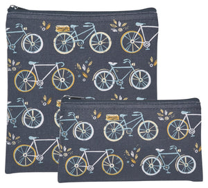 Now Designs Bicycles Sweet Ride Snack Bags Set of 2