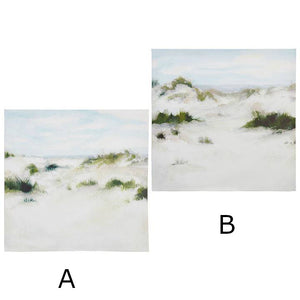 Seaside Wall Art on Canvas, 2 Designs