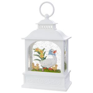 "8.5"" Duck Family Lighted Water Lantern"