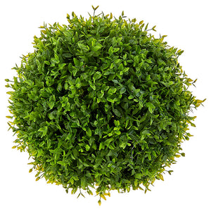"12"" Boxwood Floral Ball"