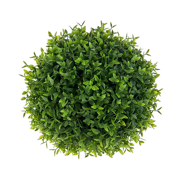 "8"" Boxwood Floral Ball"