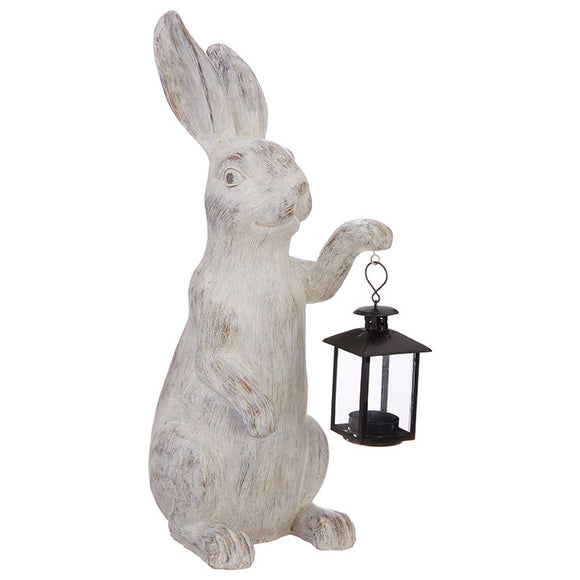 "19"" Rabbit with Lantern"