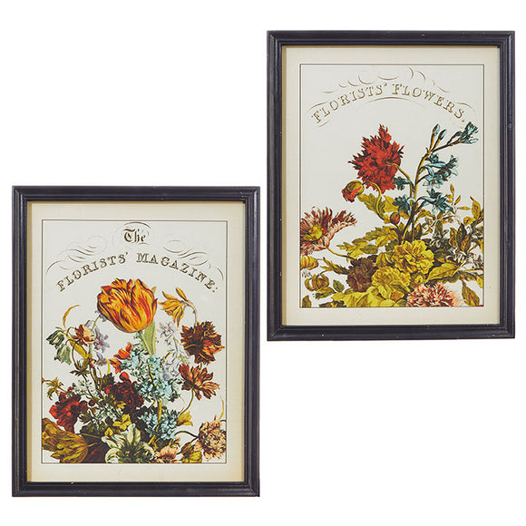 "24"" Florists' Magazine Floral Print – 2 Assorted"